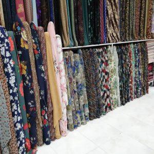 پارچه فروشی روسری